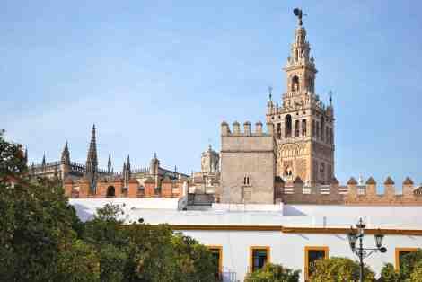 Giralda de Seville © Charles Rassaert
