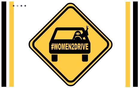 """Le mouvement saoudien """"conduire est un choix """" s'est fait un nom sur twitter grâce à l'hashtag #Women2dive. ©DR"""