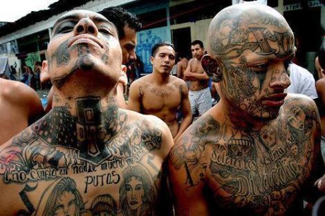 Le gang des Maras est un fléau pour la population de l'Honduras ©DR