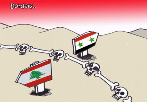 Le Liban a accueilli plus d'un millions de réfugiés syrien ©Dessin de Bleibel