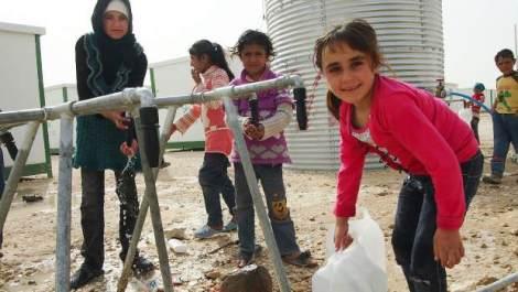 En cas de mauvaise précipitation, la Syrie risque de se trouver sans eau. ©Oxam