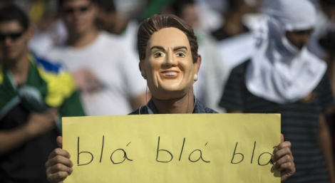 Dilma Roussef continue sa chute dans les sondages à quelques mois de l'élection présidentielle © DR
