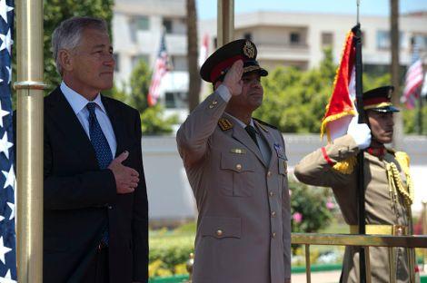 L'ancien Maréchal al-Sissi a été élu avec plus de 96% des voix. © DR